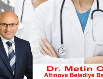 "DR. METİN ORAL""TEHLİKE GEÇMEDİ, REHAVETE KAPILMAYALIM"""